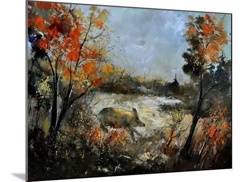 Wild Boar 56-Pol Ledent-Mounted Art Print