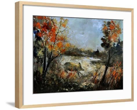 Wild Boar 56-Pol Ledent-Framed Art Print