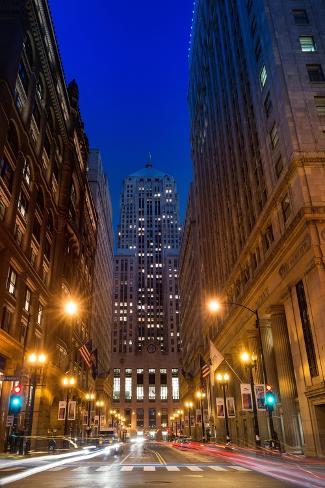 Chicago Board of Trade-Steve Gadomski-Stretched Canvas Print