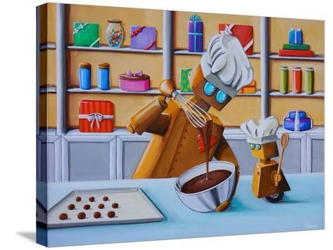 The Chocolatiers-Cindy Thornton-Stretched Canvas Print