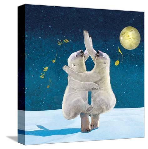 Dancing Bears-Nancy Tillman-Stretched Canvas Print