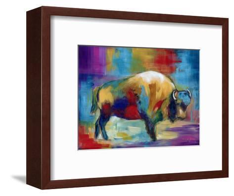 American Buffalo-Marilyn Dunlap-Framed Art Print