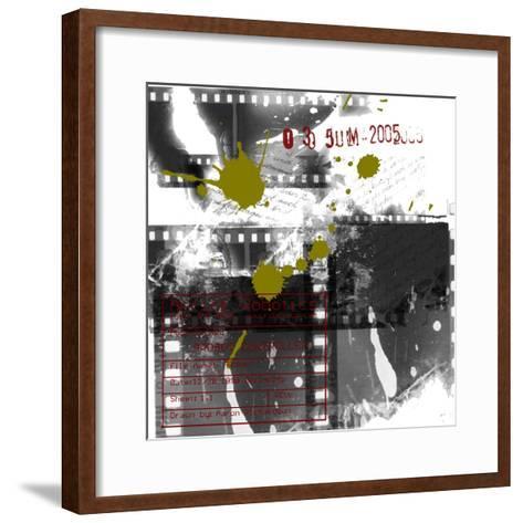 Robots And Film-Jan Weiss-Framed Art Print