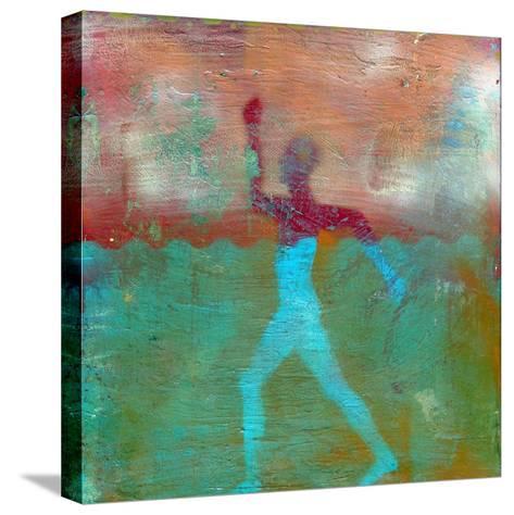 Marathon I Abstract-Ricki Mountain-Stretched Canvas Print
