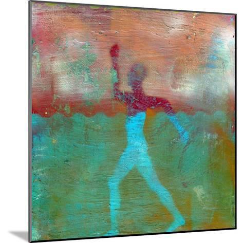 Marathon I Abstract-Ricki Mountain-Mounted Art Print