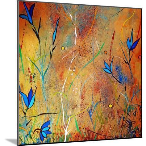 Little Blue Blooms-Ruth Palmer-Mounted Art Print