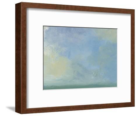 Solitary Sky 1-Jan Weiss-Framed Art Print