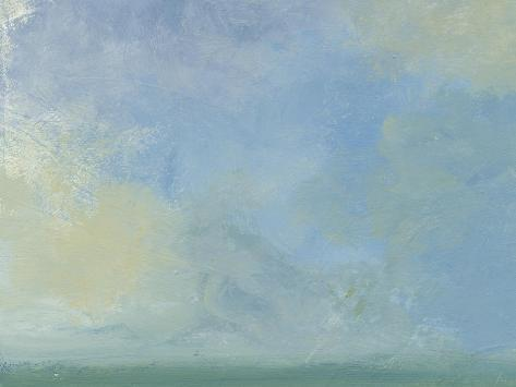 Solitary Sky 1-Jan Weiss-Stretched Canvas Print