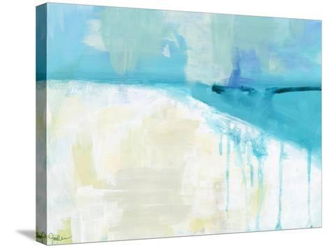 Coastal Blues 1-Jan Weiss-Stretched Canvas Print