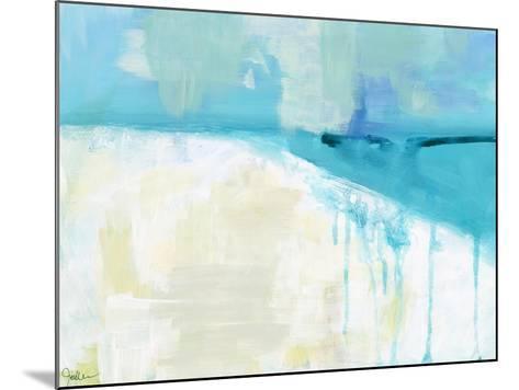 Coastal Blues 1-Jan Weiss-Mounted Art Print