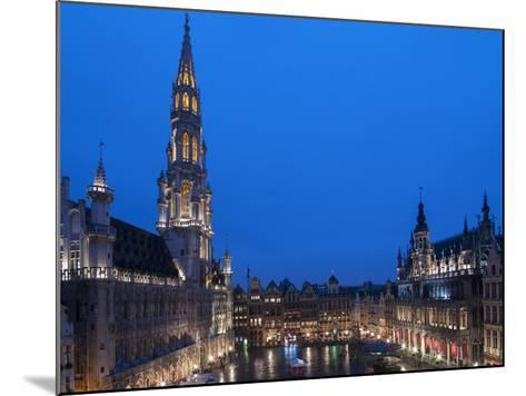 Brussels Grand Place 2-Charles Bowman-Mounted Photographic Print