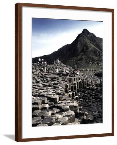 Giants Causeway-Charles Bowman-Framed Art Print