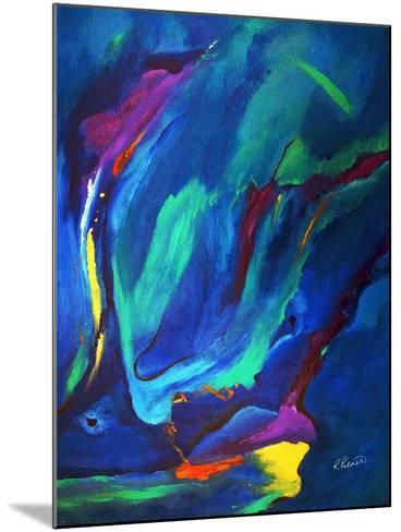 Deep Blue Thoughts-Ruth Palmer-Mounted Art Print