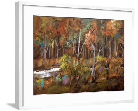 Little Creek Down In The Woods-Ruth Palmer-Framed Art Print