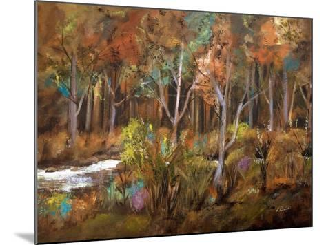 Little Creek Down In The Woods-Ruth Palmer-Mounted Art Print