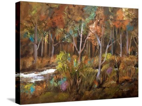 Little Creek Down In The Woods-Ruth Palmer-Stretched Canvas Print
