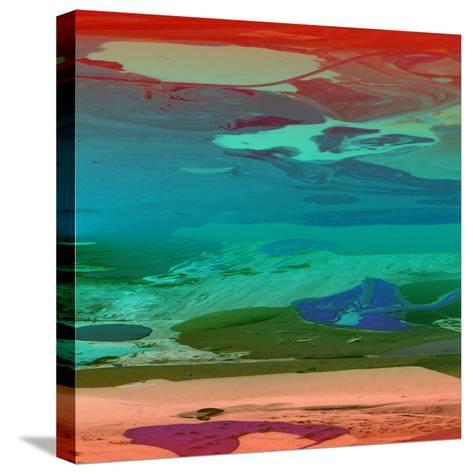Red Sky At Night-Ricki Mountain-Stretched Canvas Print
