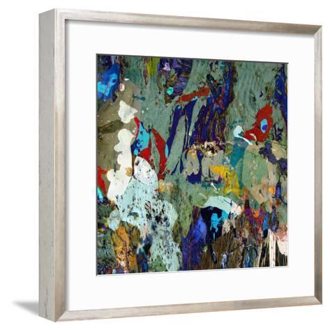 Avalanche-Ricki Mountain-Framed Art Print