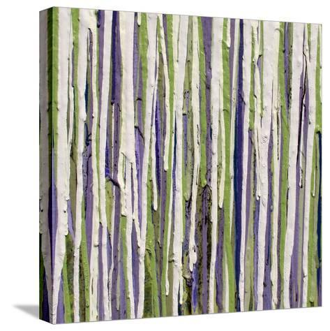 Dripcicles Detail-Ricki Mountain-Stretched Canvas Print