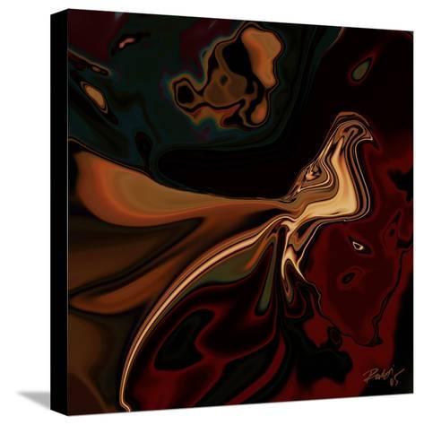 Soul Bird 7-Rabi Khan-Stretched Canvas Print