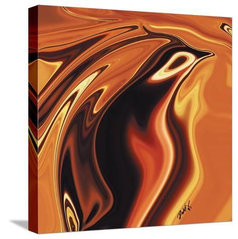 Soul Bird 4-Rabi Khan-Stretched Canvas Print