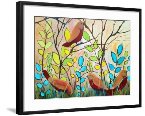 The Peaceful Gathering-Ruth Palmer-Framed Art Print
