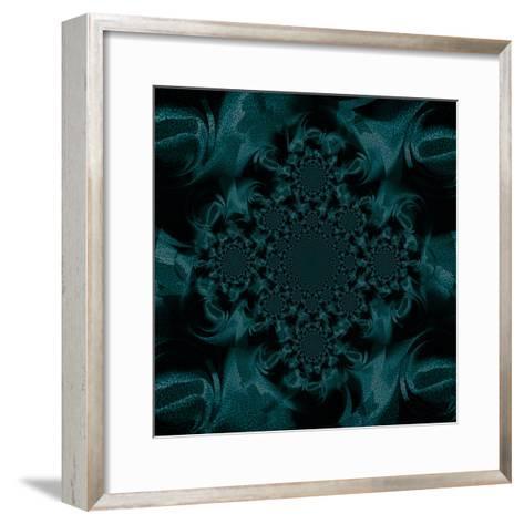 Billowing Teal II-Ruth Palmer-Framed Art Print