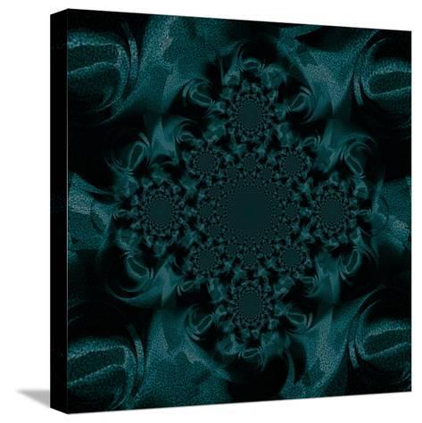 Billowing Teal II-Ruth Palmer-Stretched Canvas Print