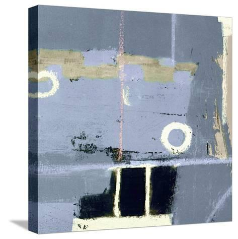 Abstract City View II-Ricki Mountain-Stretched Canvas Print