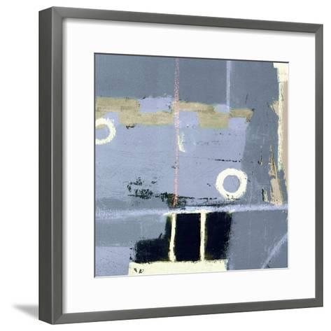 Abstract City View II-Ricki Mountain-Framed Art Print