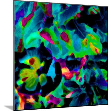 Blooming Blue Abstract-Ruth Palmer-Mounted Art Print