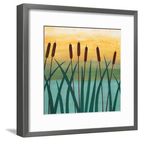 By The River-Herb Dickinson-Framed Art Print