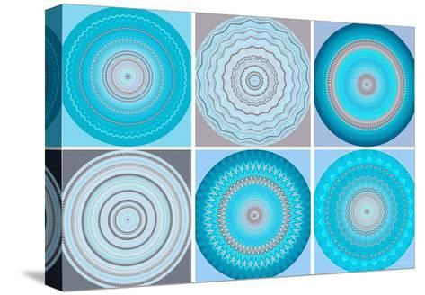 Motif Magic-Herb Dickinson-Stretched Canvas Print