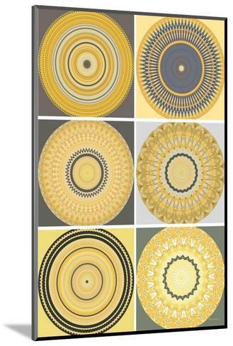 Yellow Love Collage-Herb Dickinson-Mounted Art Print