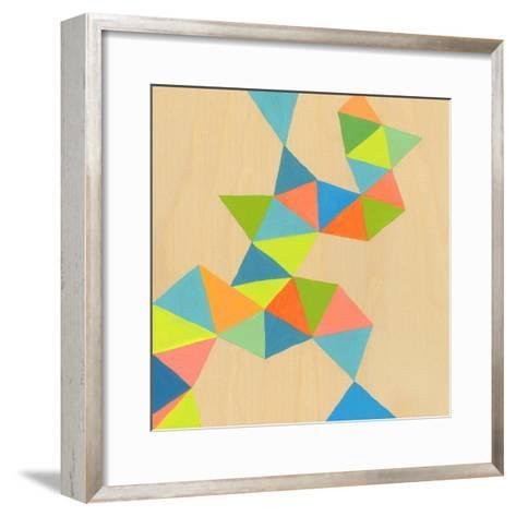 Shapes at a Cellular Level 3-Jan Weiss-Framed Art Print