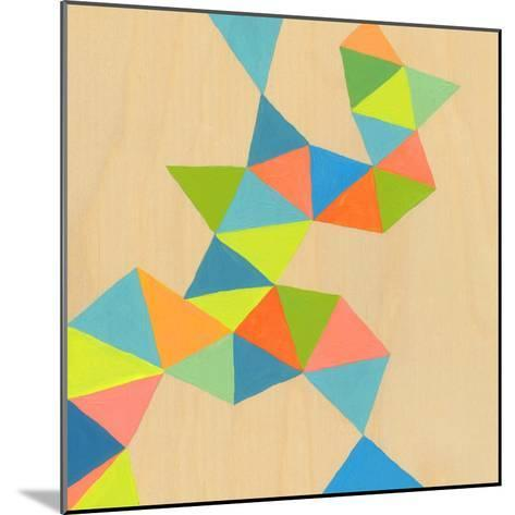 Shapes at a Cellular Level 3-Jan Weiss-Mounted Art Print