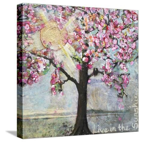Live in the Sunshine-Blenda Tyvoll-Stretched Canvas Print