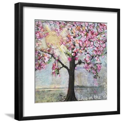 Live in the Sunshine-Blenda Tyvoll-Framed Art Print