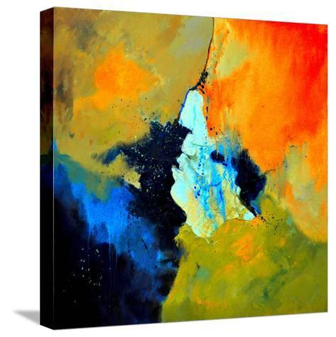 Abstract 211102-Pol Ledent-Stretched Canvas Print