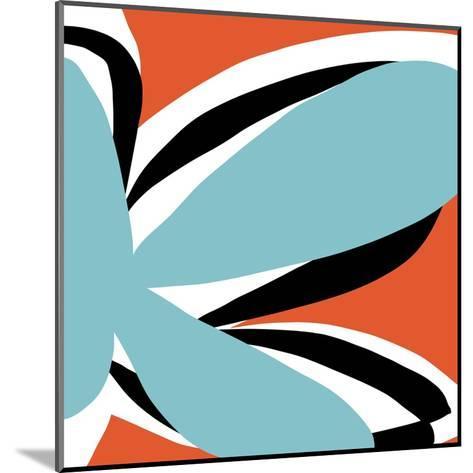 Oh So Pretty - Tangerine-Jan Weiss-Mounted Art Print