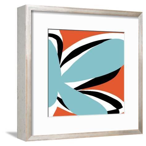 Oh So Pretty - Tangerine-Jan Weiss-Framed Art Print