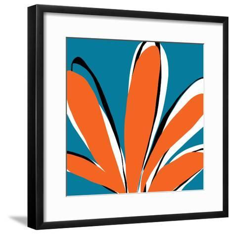 Oh So Pretty - Teal-Jan Weiss-Framed Art Print