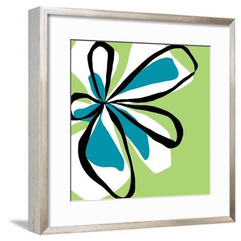 Oh So Pretty - Green-Jan Weiss-Framed Art Print