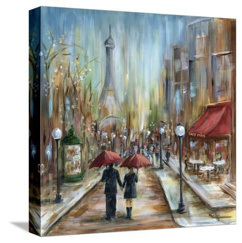 Paris Lovers III-Marilyn Dunlap-Stretched Canvas Print