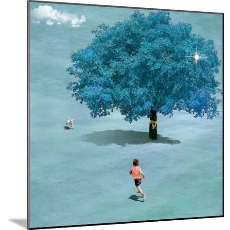 Meeting In Heaven-Nancy Tillman-Mounted Art Print