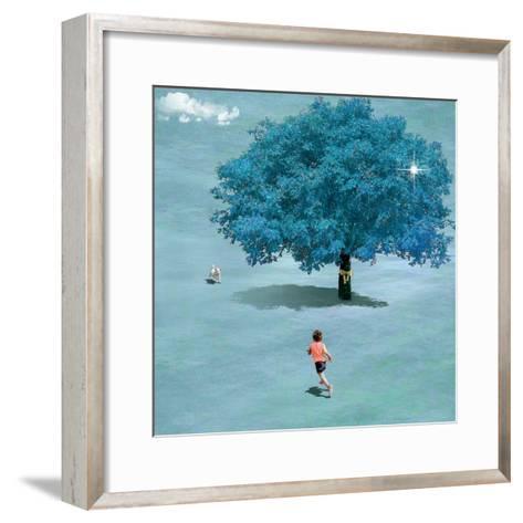 Meeting In Heaven-Nancy Tillman-Framed Art Print