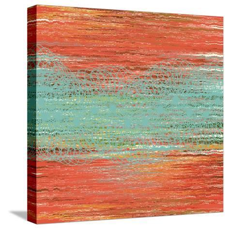 Flora Waltz I-Ricki Mountain-Stretched Canvas Print