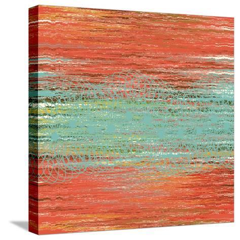 Flora Waltz II-Ricki Mountain-Stretched Canvas Print