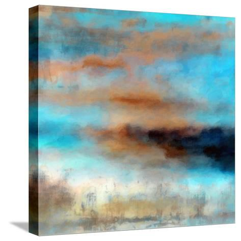 What a Color Art Series Abstract 12-Ricki Mountain-Stretched Canvas Print