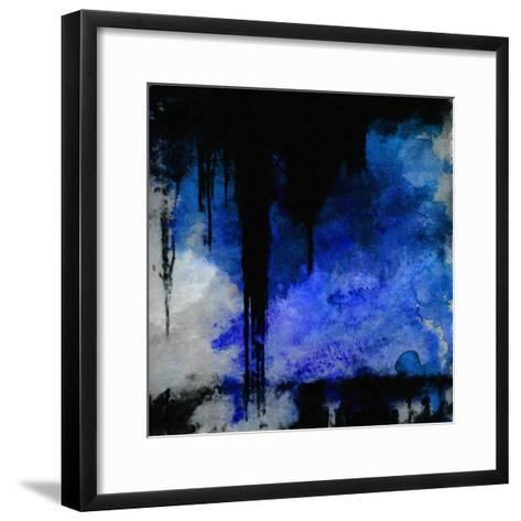 What a Color Art Series Abstract 2-Ricki Mountain-Framed Art Print